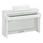 Yamaha CLP645 Clavinova Digital Piano in White (CLP645WH)