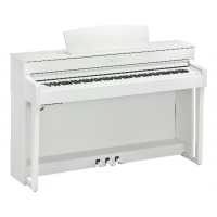Yamaha CLP645 Clavinova Digital Piano, White