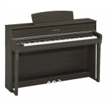 Yamaha CLP675 Clavinova Digital Piano In Dark Walnut (CLP675DW)