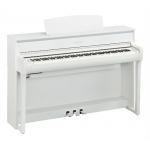 Yamaha CLP675 Clavinova Digital Piano In White (CLP675WH)