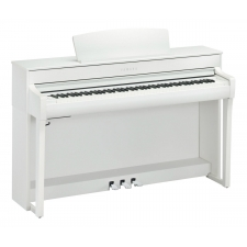Yamaha CLP745 Clavinova Digital Piano in White (CLP745WH)