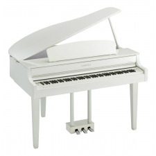 Yamaha CLP765 Clavinova Grand Piano in Polished White (CLP765GPWH)