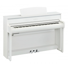 Yamaha CLP775 Clavinova Digital Piano in White (CLP775WH)