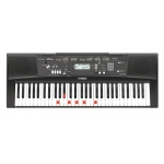 Yamaha EZ220 Portable Keyboard in Black With Lighting Keys