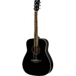 Yamaha FG820 Acoustic Guitar, Black