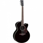 Yamaha FJX730SC Electro Acoustic Guitar in Black