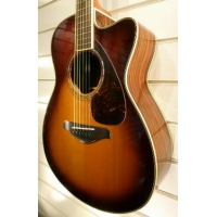 Yamaha FSX730SC II Electro Acoustic Guitar in Brown Sunburst