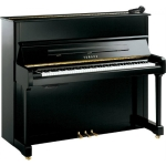 Yamaha P121 Silent Piano in Black or White with Brass or Chrome Fittings
