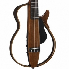Yamaha SLG200N Nylon String Silent Guitar in Natural with Gig Bag