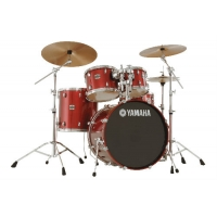 Yamaha Stage Custom Drumkit Cranberry Red