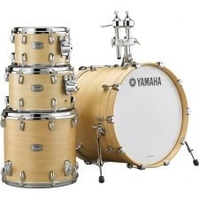 Yamaha TMP2F4+ Tour Custom Maple 5 Piece Shell Pack in Butterscotch Satin