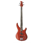 Yamaha TRBX204 4-String Electric Bass Guitar, Red Metallic