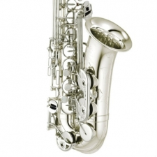 Yamaha YAS-480S Alto Sax In Silver Plate With Mouthpiece & Case