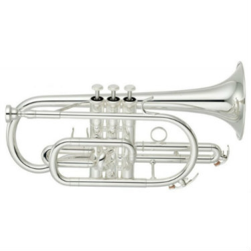 Yamaha YCR4330GSII Bb Cornet (Silver Plated) with Case & Mouthpiece