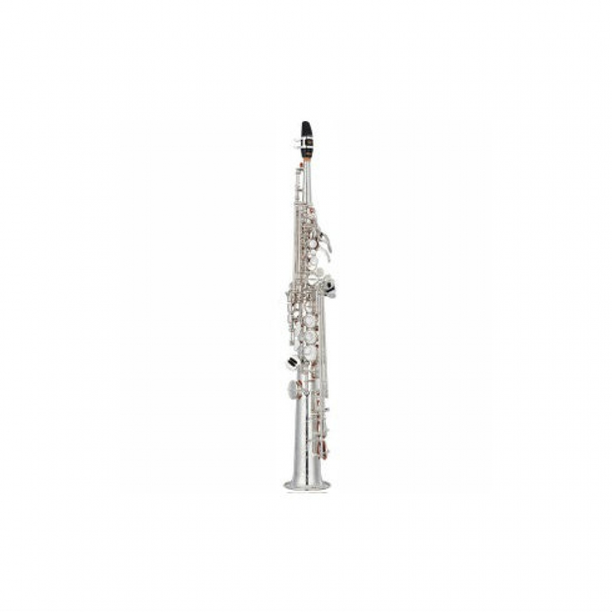 Yamaha yss82zs soprano saxophone in silver plate for Yamaha saxophone mouthpiece chart