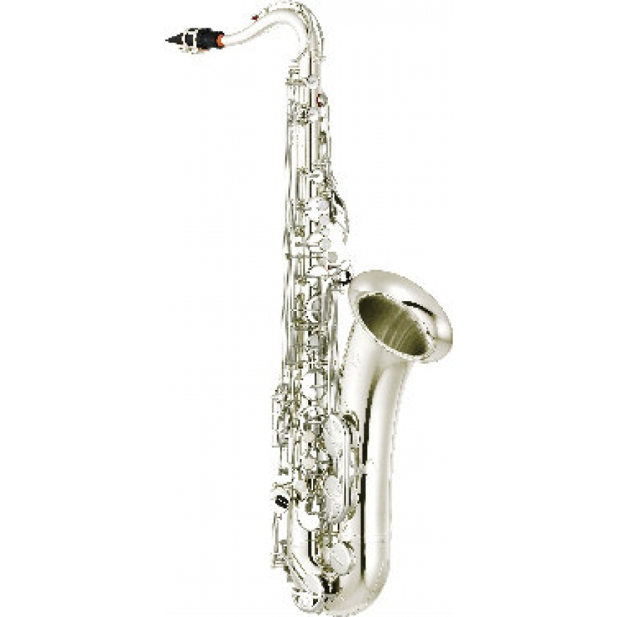 Yamaha yts280s tenor saxophone in silver plate with for Yamaha saxophone mouthpiece chart