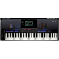 Yamaha Genos 76 Note Keyboard