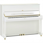 Yamaha U1 TransAcoustic Upright In White, Mahogany, Walnut & Satin Ebony