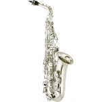 Yamaha YAS480S Alto Sax In Silver Plate With Mouthpiece & Case