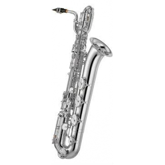 Yamaha YBS32SE Eb Baritone Sax In Silver Plate With Mouthpiece & Case