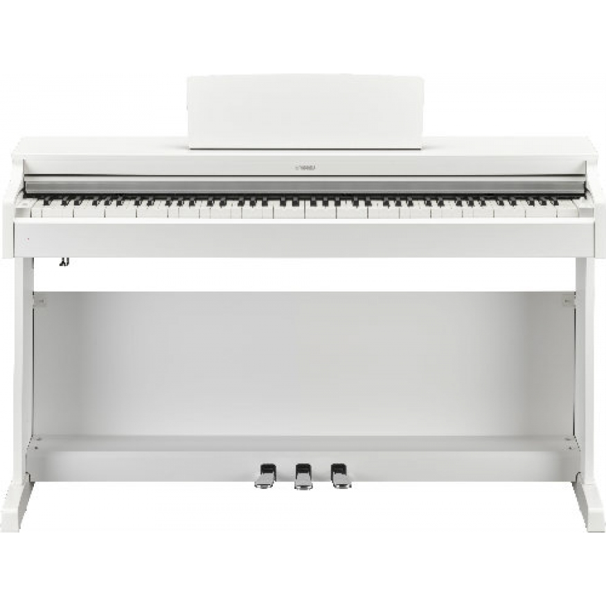 Yamaha ydp163w yamaha ydp163 digital piano white for White yamaha piano