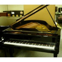 Young Chang Grand Piano, Black Polyester, Pre-Owned