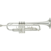 Yamaha YTR2330S Bb Trumpet, Silver Plated