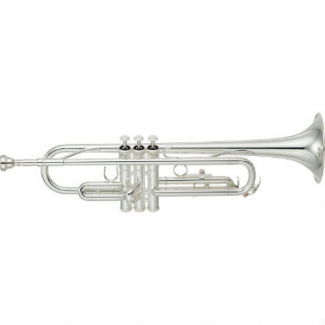 Yamaha YTR2330S Bb Trumpet (Silver Plated) with Case & Mouthpiece