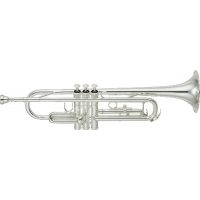 Yamaha YTR3335S Bb Trumpet, Silver Plated