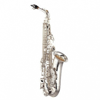 Yamaha YTS82ZS 02 Tenor Saxophone In Silver Plate With Mouthpiece & Case