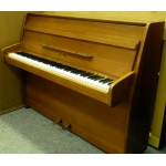 Zender Upright Piano in Teak Satin Finish