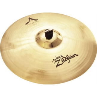 "Zildjian A Custom 17"" Brilliant Crash Cymbal"