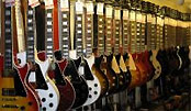 Lots Of Gibson Guitars