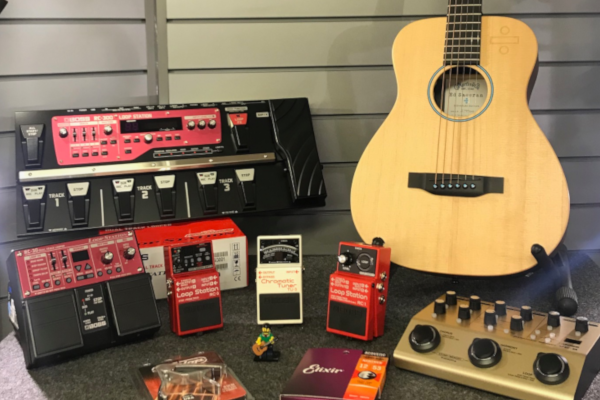 Ed Sheeran Equipment