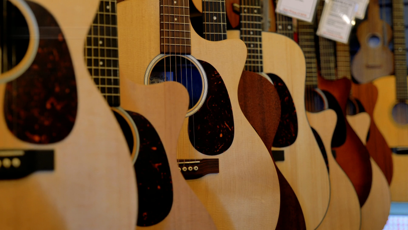 Wide Range of Martin Guitars