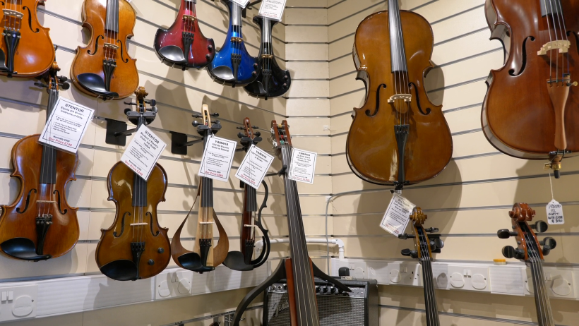 Violins, Cellos & Double Bass